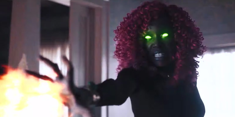 Titans – Il nuovo costume di Starfire in un video di backstage