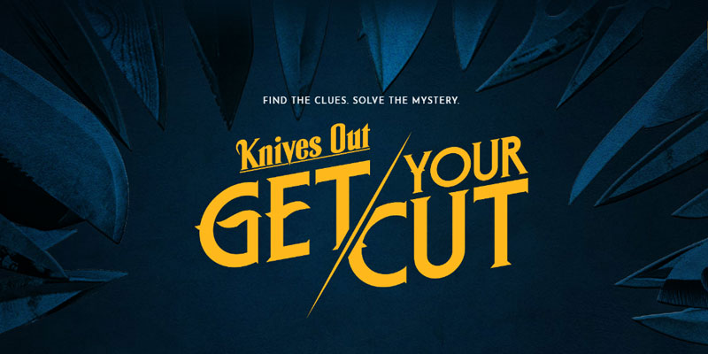 Lanciata la campagna virale Knives Out: Get Your Cut, 11 nuovi poster