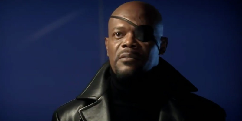 Nick Fury fa riferimento a Spider-Man e X-Men in una scena alternativa di Iron Man