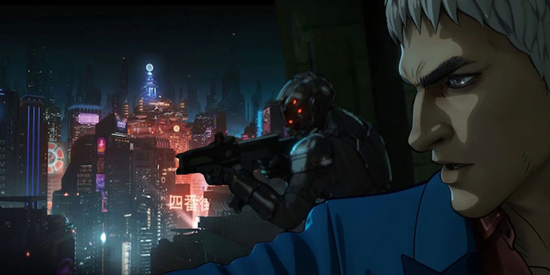 Altered Carbon: Resleeved su Netflix nel 2020, prime immagini