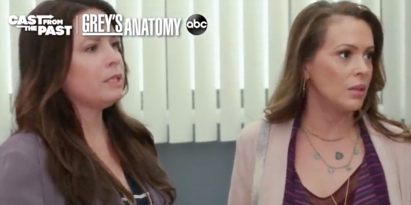 Alyssa Milano e Holly Marie da Streghe a Grey's Anatomy, un assaggio dell'episodio