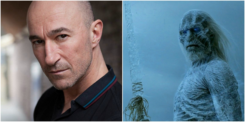 Ross Mullan il White Walker di Game of Thrones a Lucca C&G 2019