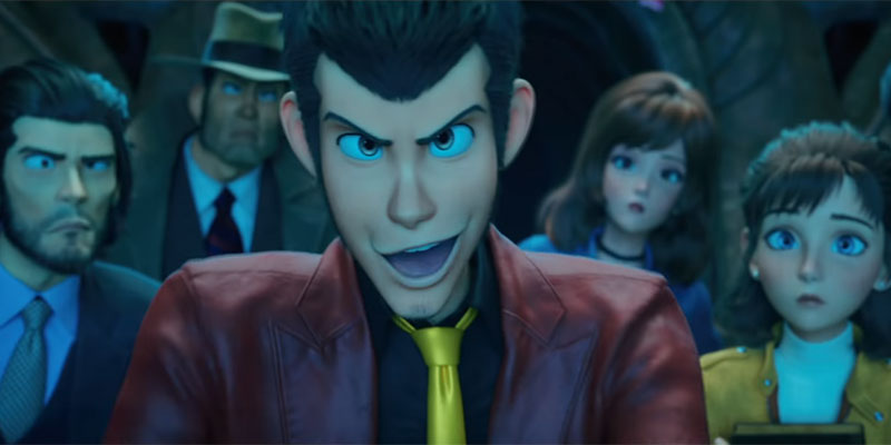 Lupin III – The First: Trailer del film 3DCG, panel domenica 6 al Romics
