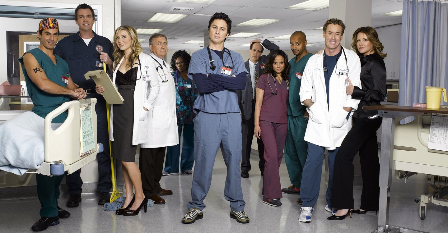 Scrubs: arriva il podcast per fare rewatch con Zach Braff e Donald Faison