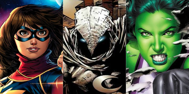 Ms. Marvel, Moon Knight e She-Hulk appariranno anche al cinema