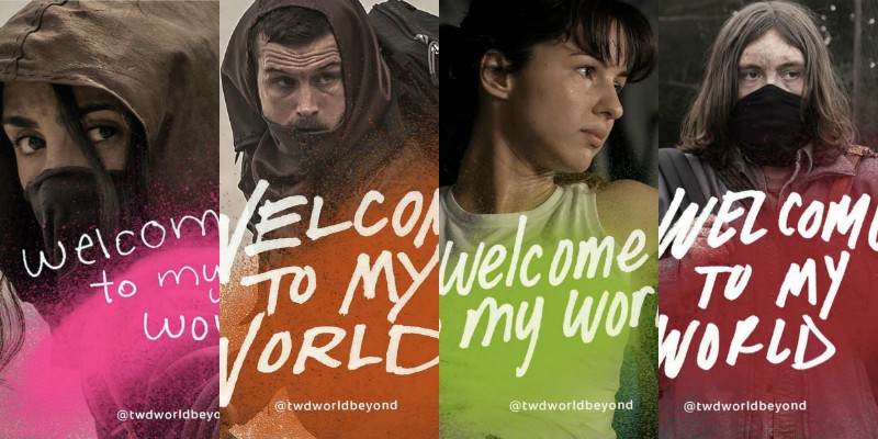 World Beyond: i character poster del nuovo spin-off di The Walking Dead