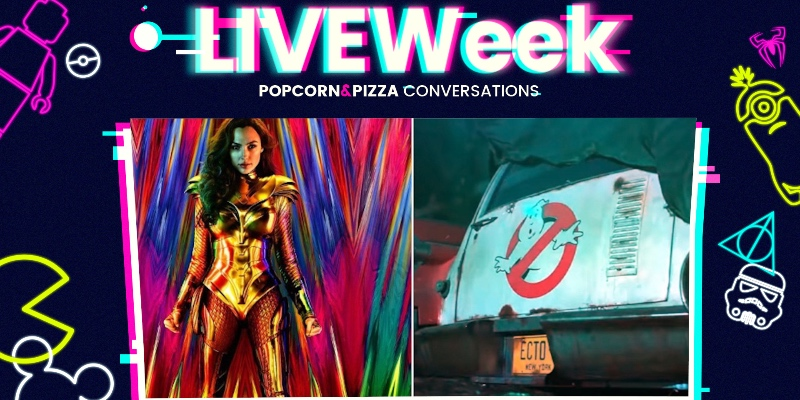 I trailer di Wonder Woman 1984 e Ghostbusters: Legacy (LiveWeek 2 Ep.14)