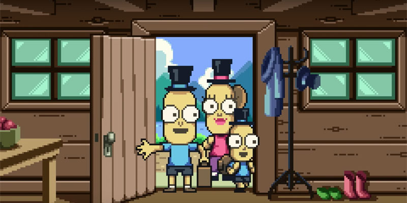 Buone feste da Rick and Morty con Mr. Poopy Butthole's Beautiful Day