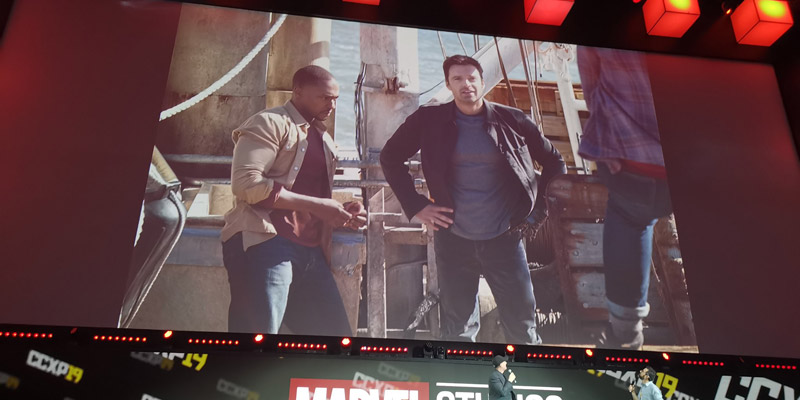 The Falcon and the Winter Soldier – Ecco le prime foto dal CCXP