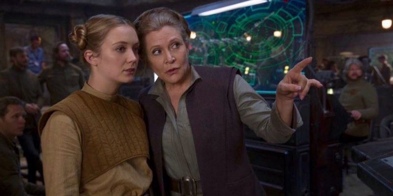 Star Wars: L'Ascesa di Skywalker – Billie Lourd ha interpretato la giovane Leia