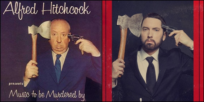 Eminem omaggia Alfred Hitchcock con il suo nuovo album: Music to Be Murdered By