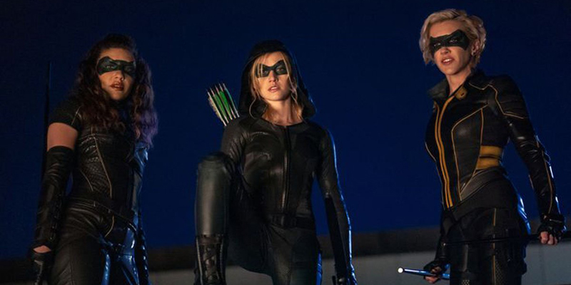 Arrow: prime foto dell'episodio spin-off Green Arrow and the Canaries
