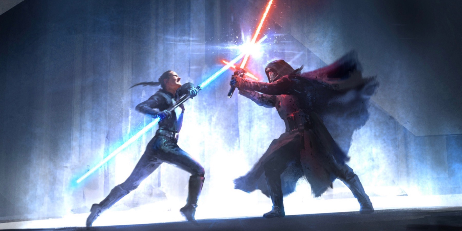 Star Wars: rivelata la concept art di Duel of the Fates, l'Episodio 9 mancato