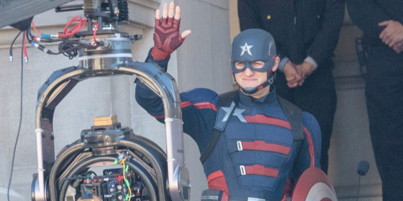 The Falcon and the Winter Soldier – Ecco Wyatt Russell/U.S. Agent sul set