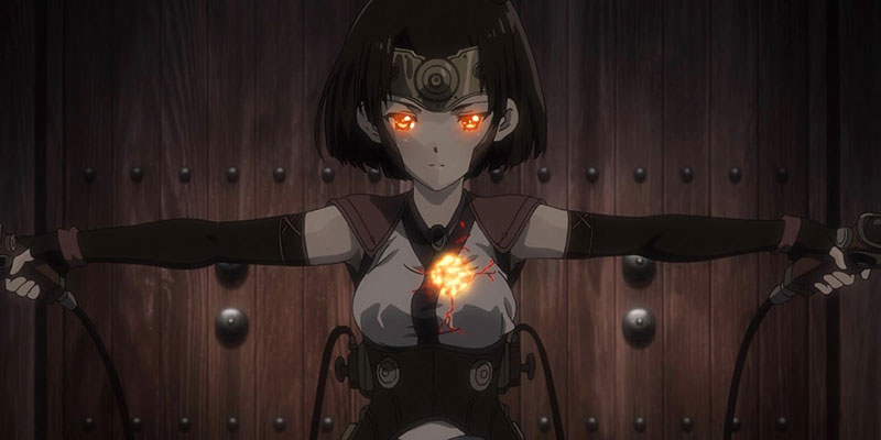 Kabaneri of the Iron Fortress – I film Light That Gathers e Life That Burns online dall'una