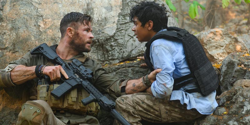 Tyler Rake – Trailer per l'action con Chris Hemsworth, dal 24 aprile su Netflix