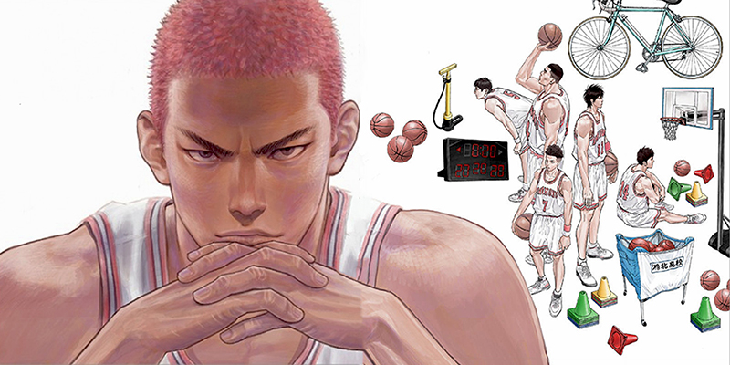PLUS/SLAM DUNK ILLUSTRATIONS 2 – L'artbook di Takehiko Inoue a settembre