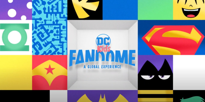 DC FanDome: in attesa del 22 agosto, un video presenta DC Kids FanDome