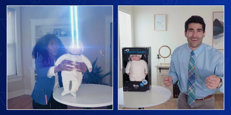 The Boys 2 – Vought Shopping Network presenta… il Laser Baby!