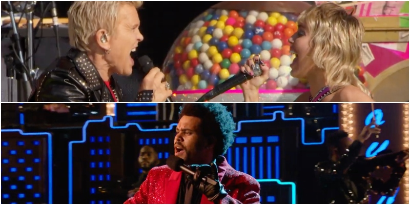 Da Miley Cyrus a The Weeknd, i migliori momenti del Super Bowl 2021