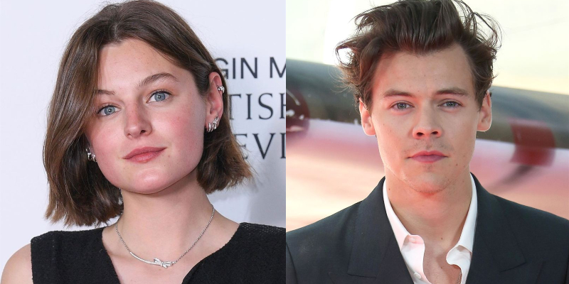 My Policeman – Emma Corrin nel film Amazon con Harry Styles