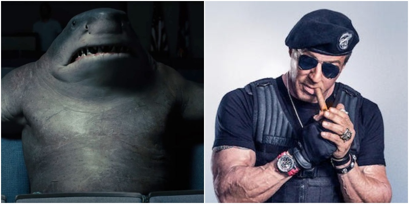 The Suicide Squad: Sylvester Stallone è King Shark!