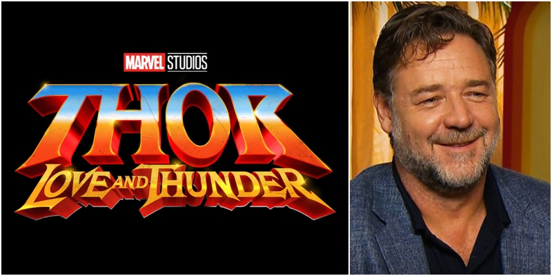 Thor: Love and Thunder – Anche Russell Crowe nel cast del film Marvel