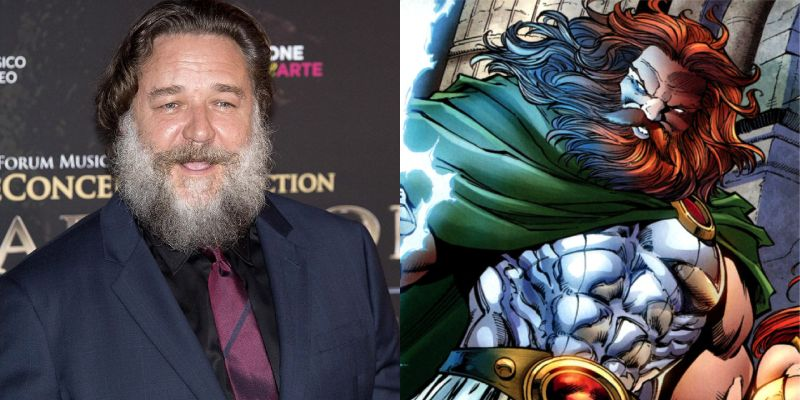 Thor: Love and Thunder – Russell Crowe interpreterà Zeus!