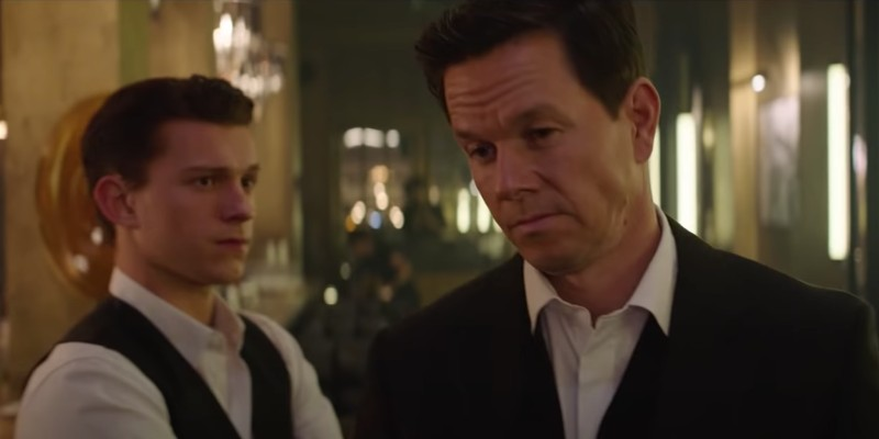 Uncharted – Tom Holland e Mark Wahlberg nel primo (breve) footage del film