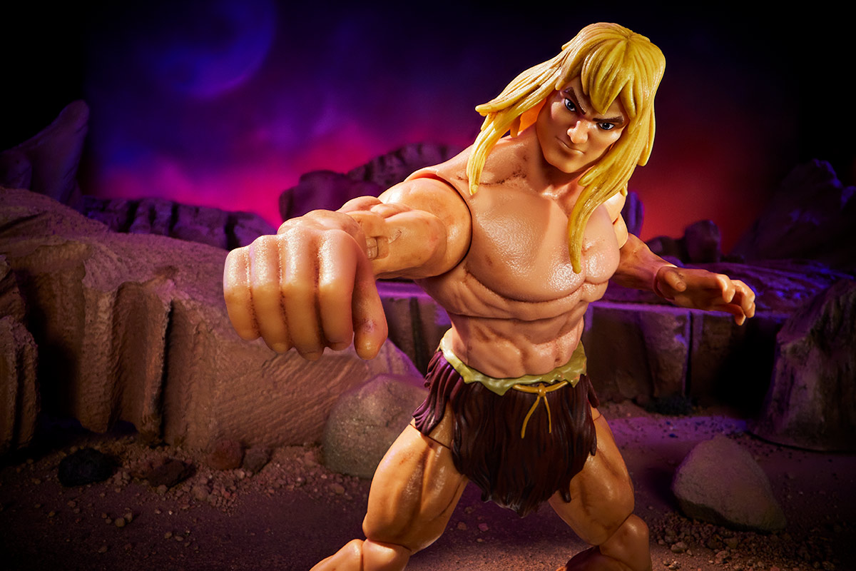 Masters of the Universe Revelation parte 2 Savage He-Man